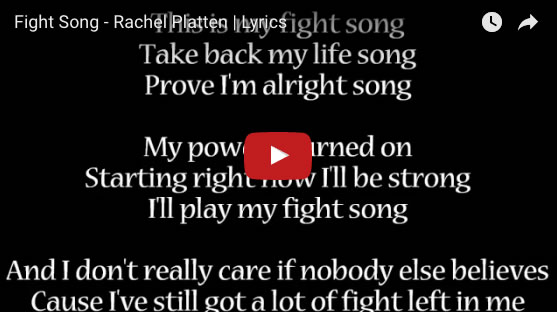 Fight Song Rachel Patten